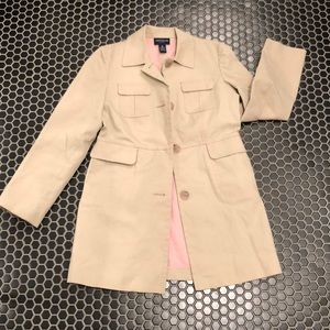 Ann Taylor Trench Coat Size SP